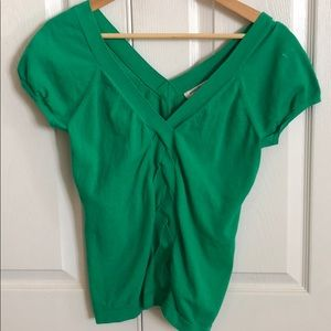BANANA REPUBLIC - Green lightweight sweater